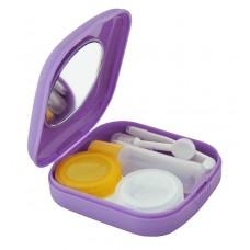 Дорожный набор для контактных линз мини 5,5 х 5,5 см